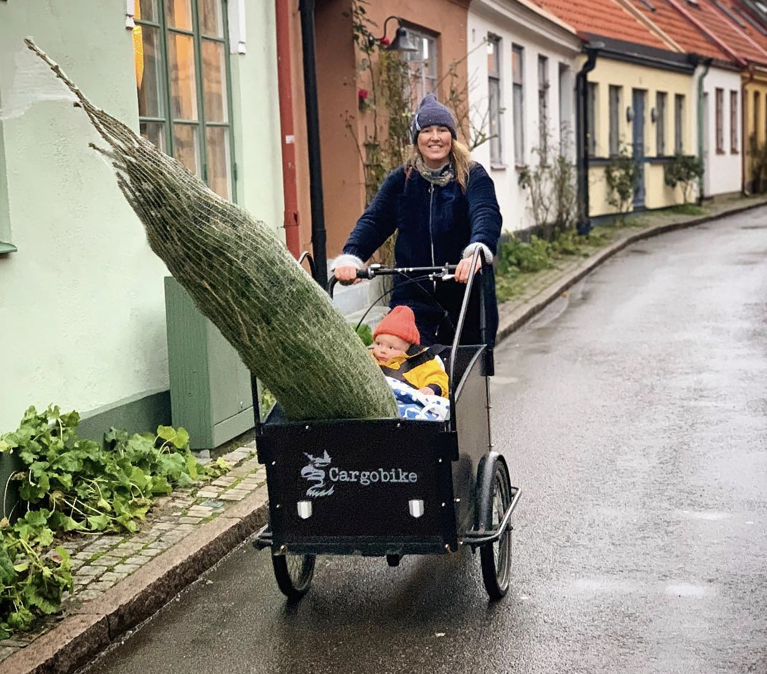 Scandinavian Family Biking